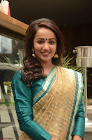 Tejaswi Madivada looks super cute in Saree at V care fund raising event COLORS ~  Exclusive 101.JPG