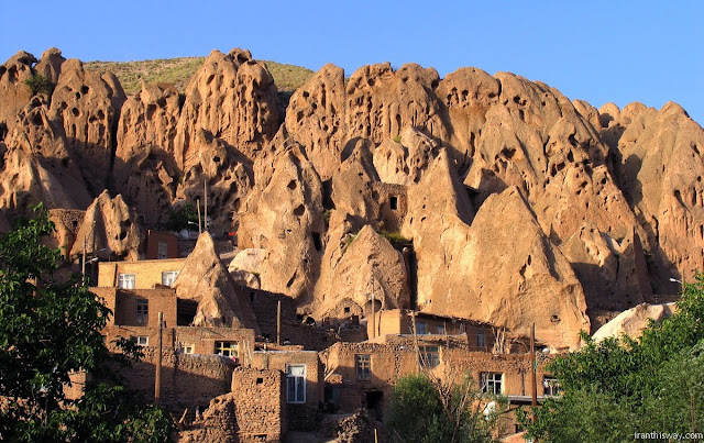 Hand dug caves of Kandovan. Iran- Tabriz