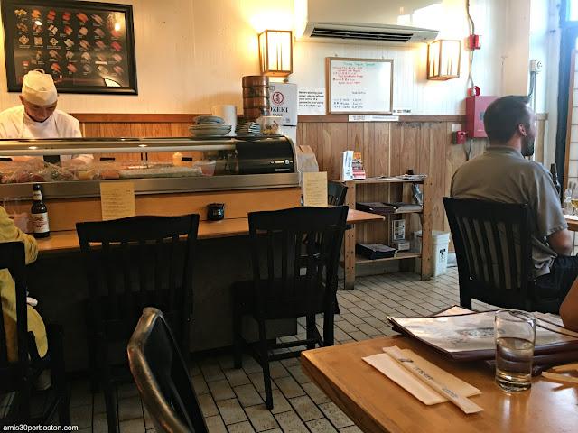 Sushi Chef del Toraya en Arlington