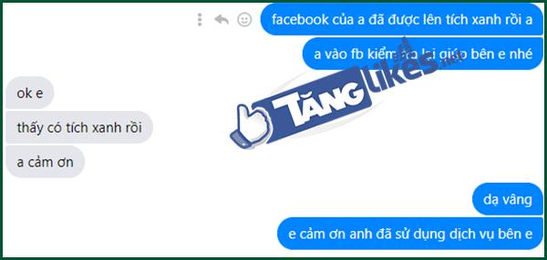 len tich xanh facebook