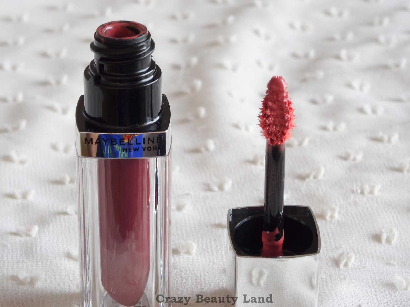 Maybelline Color Sensational Lip Polish in Glam 13 review