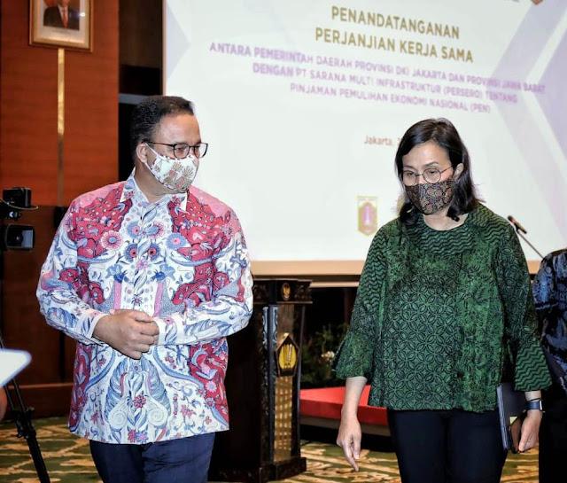 Pemprov DKI Jakarta Ajukan Pinjaman Dana Pemulihan Ekonomi 8 Triliun ke SMI