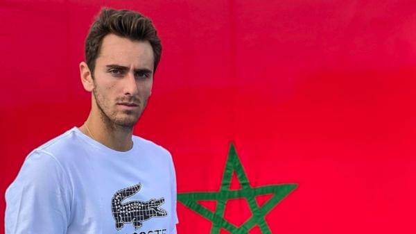 """لاعب التنس """"إيليوت بنشتريت"""" يتخلى عن تمثيل فرنسا ويعلن دفاعه عن ألوان المغرب(صورة)"""