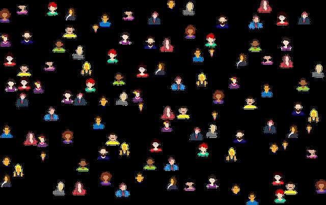 diversas-pessoas-com-tracos-conectando-umas-as-outras-simbolizando-comunicacao-atual-na-internet