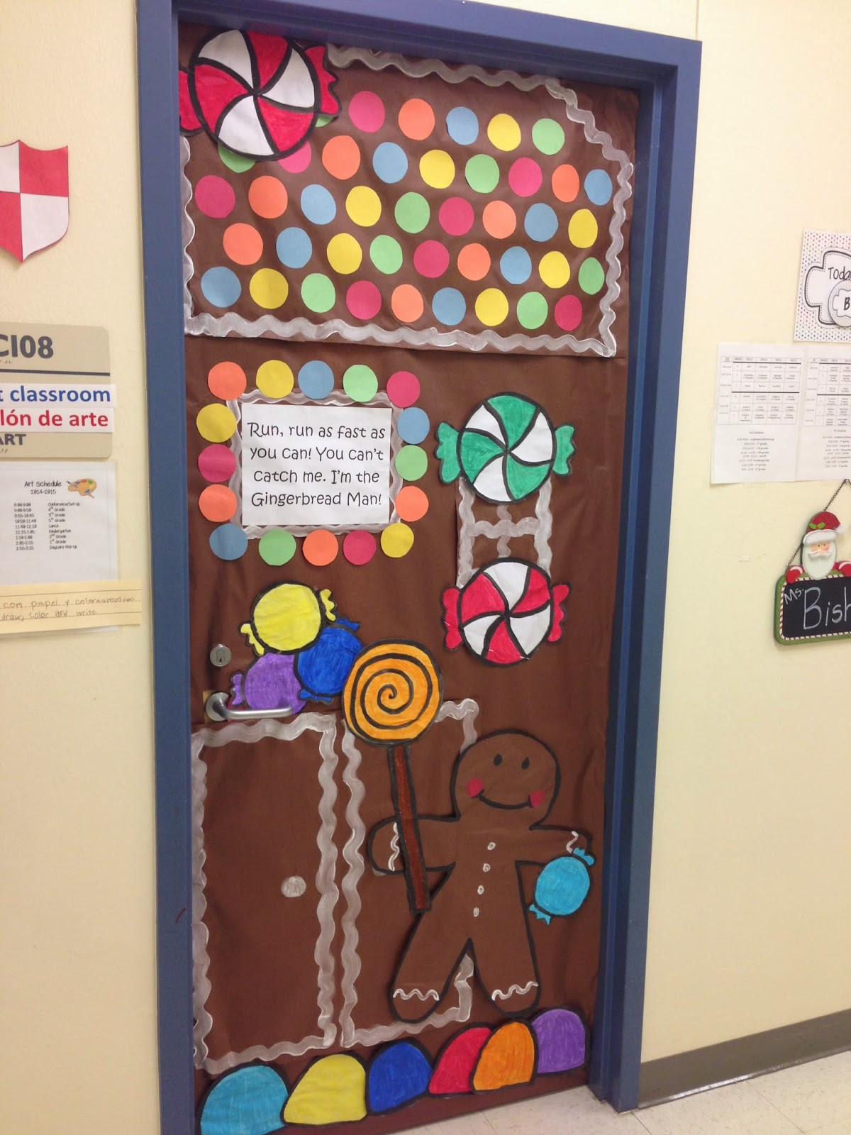 Bishop's Blackboard: An Elementary Education Blog: Door ...