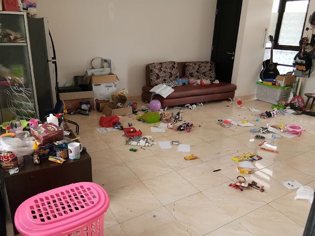 Rumah Selalu Dibuat Berantakan Oleh Anak, Status Bunda Ini Malah Bikin Wanita Lain Menangis