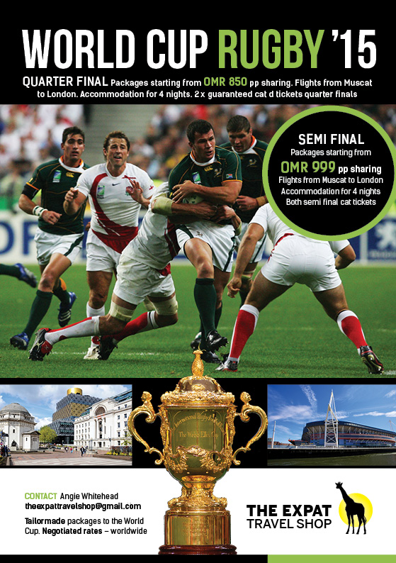 The Expat Travel Shop and the Rugby World Cup - [MM] Muscat Mutterings