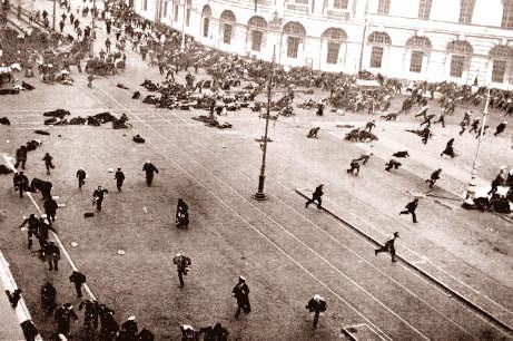 Masacre en la revolución rusa