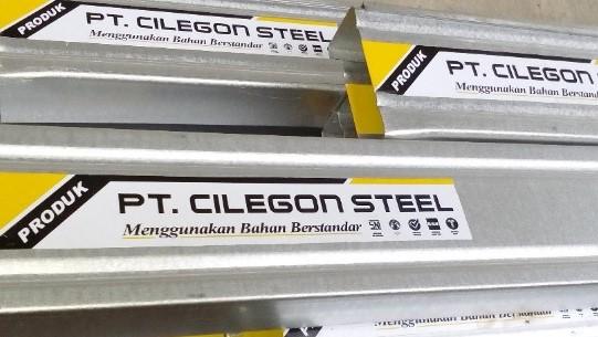 harga baja ringan merk cilegon steel indonesia brebes
