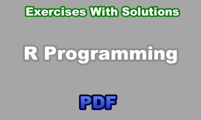 R Programming Exercises With Solutions PDF