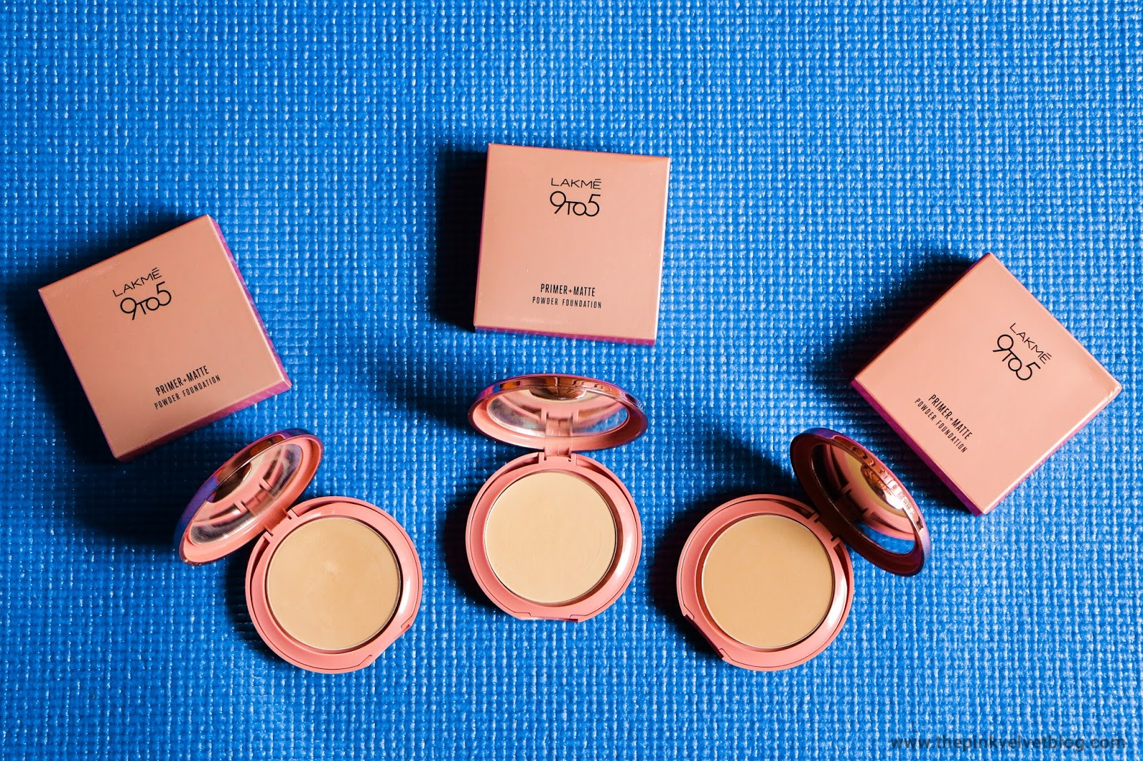 Lakme 9 to 5 Primer + Matte Powder Foundation Compact