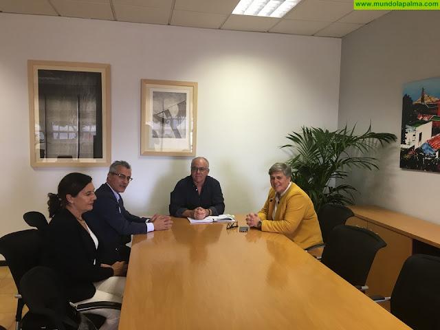 El Cabildo recibirá la estación de guaguas de Los Llanos de Aridane según lo comprometido por el Gobierno de Canarias