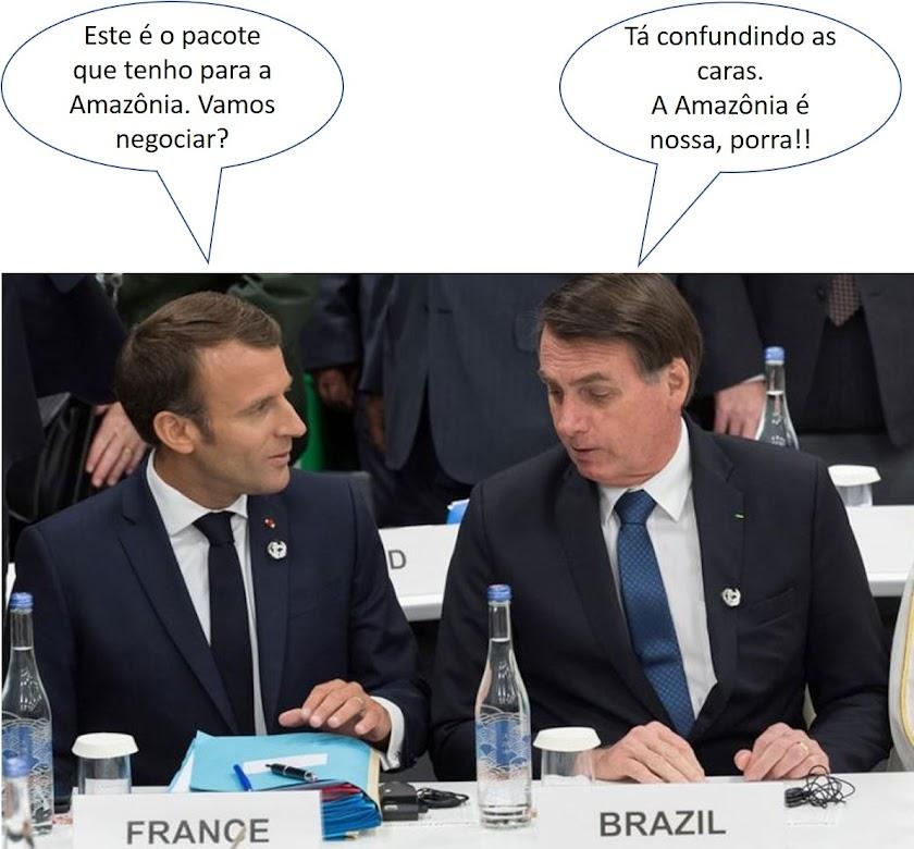 Desmascarando pela História o interesse da França pela Amazônia