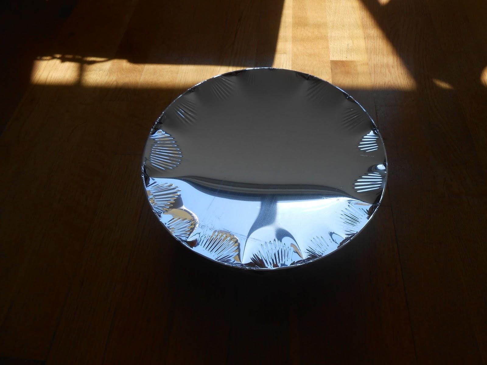 The LIMblog: Material test: aluminized mylar