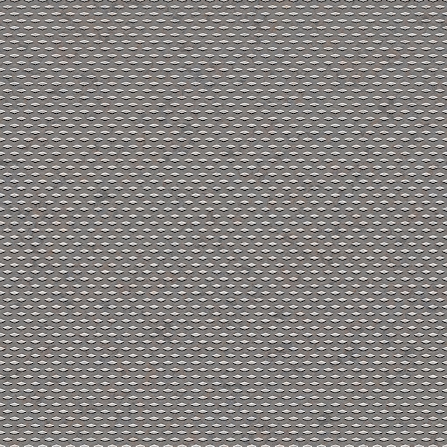 Seamless diamond metal studs texture