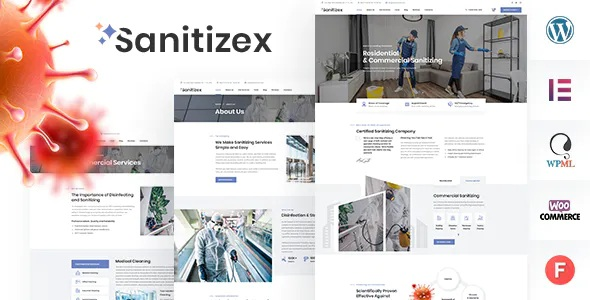 Best Sanitizing Services WordPress Theme