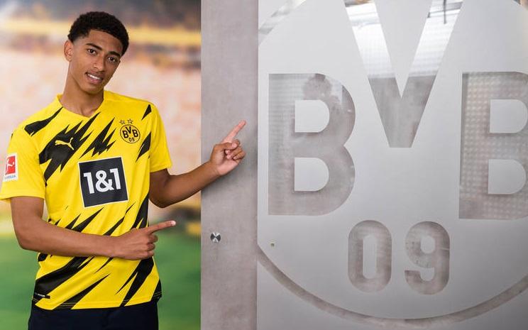 CHÍNH THỨC: 'Thần đồng' Bellingham gia nhập Dortmund