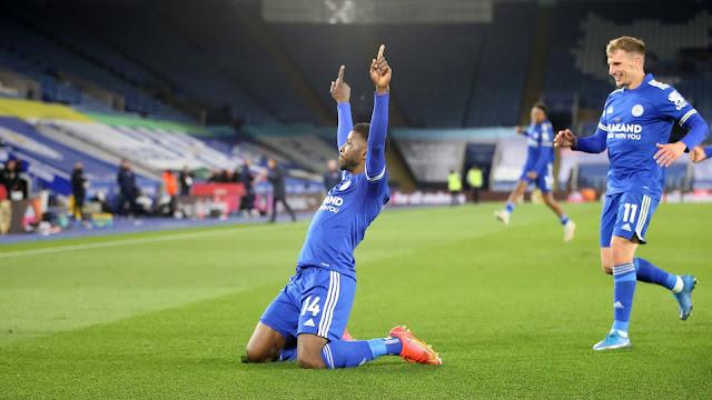 Leicester city and Nigerian forward Kelechi Iheanacho