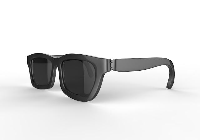 men sunglass 3d model free download obj,maya low poly
