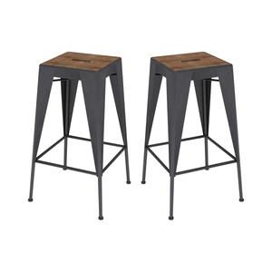 Treighton Bar Stools from Dot and Bo - sponsored - Calypso in the Country blog