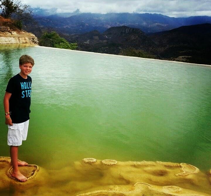 hermosas e impactantes cascadas de hierve el agua en