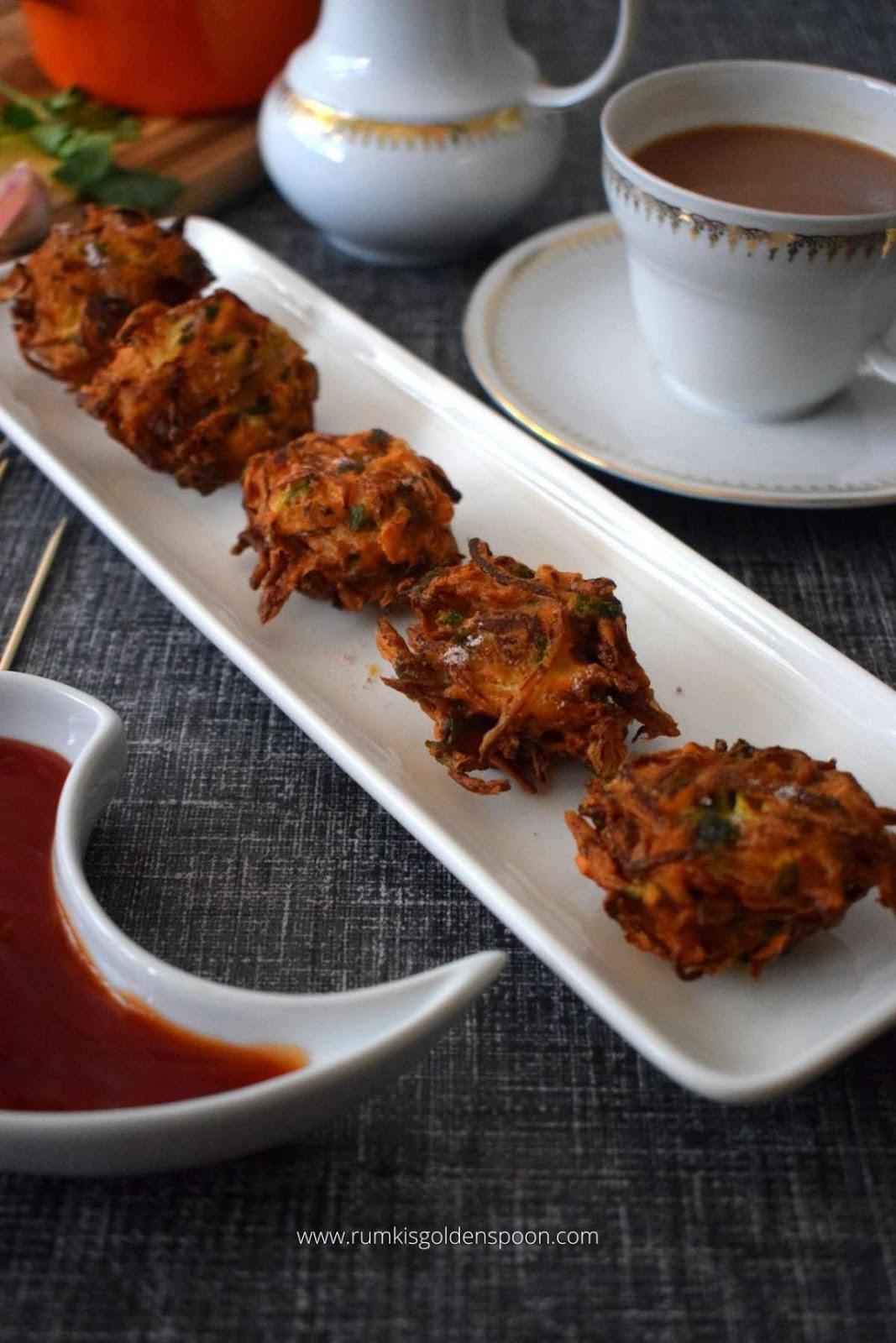 cabbage pakoda recipe, cabbage pakoda, cabbage bajji, how to make cabbage pakoda, recipe for cabbage pakoda, cabbage pakora, cabbage bhajiya, cabbage fritters, snacks recipe, snack recipe, Indian snack recipe, cabbage recipe, cabbage recipes, cabbage recipes Indian, recipe of cabbage, recipe for cabbage, recipe with cabbage, recipe for vegan snacks, recipe for pakoda, vegan snacks recipe, indian recipe for snacks, Indian snacks recipe, Rumki's Golden Spoon