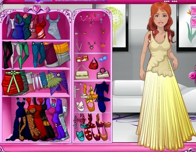 free dress up games for kids