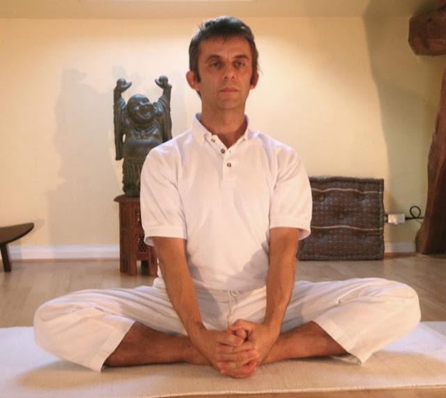 Baddha konasana  or Bound Angle Pose