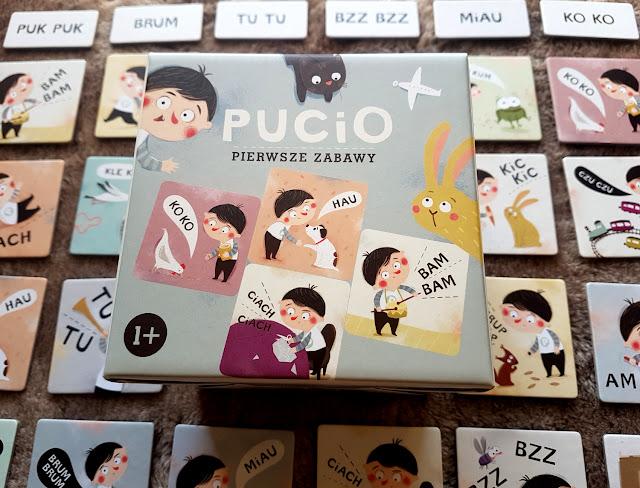 Pucio. Pierwsze zabawy - Nasza Księgarnia - Marta Galewska Kustra - Joanna Kłos