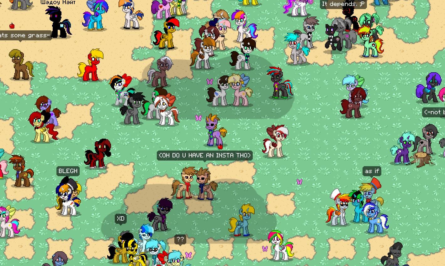 Equestria Daily - MLP Stuff!: Be a Pony in PONY TOWN