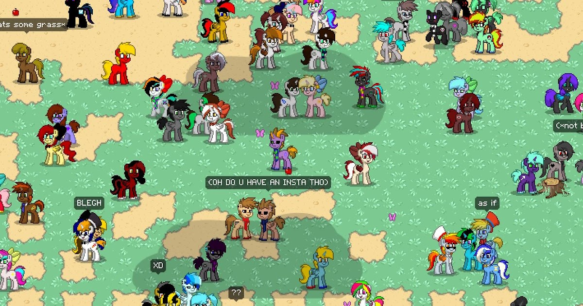 Equestria Daily Mlp Stuff Be A Pony In Pony Town