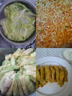 lahana sarma nasıl yapılır
