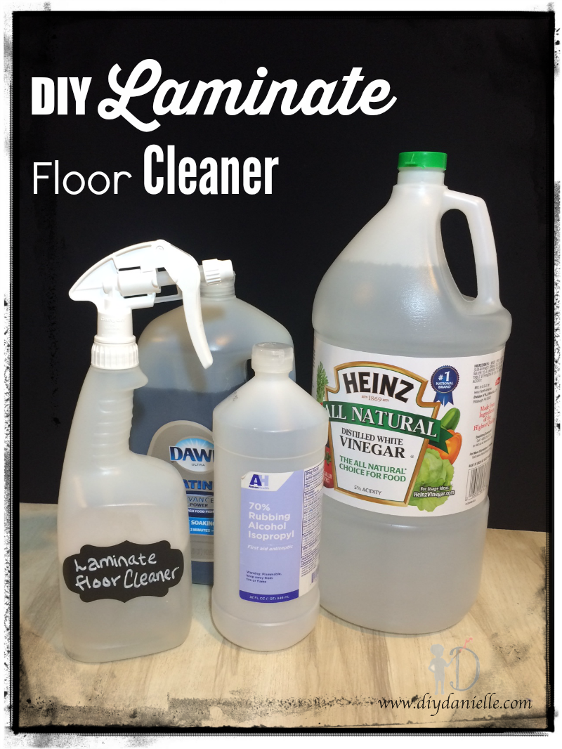 Diy laminate floor spraycleaner diy danielle how to make your own cleaner for laminate floors solutioingenieria Images