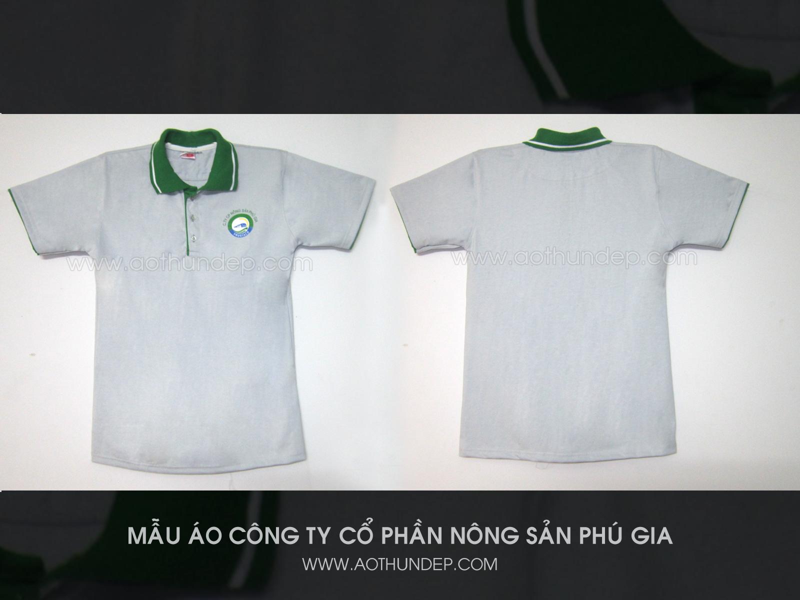Áo thun đồng phục công ty Phú Gia