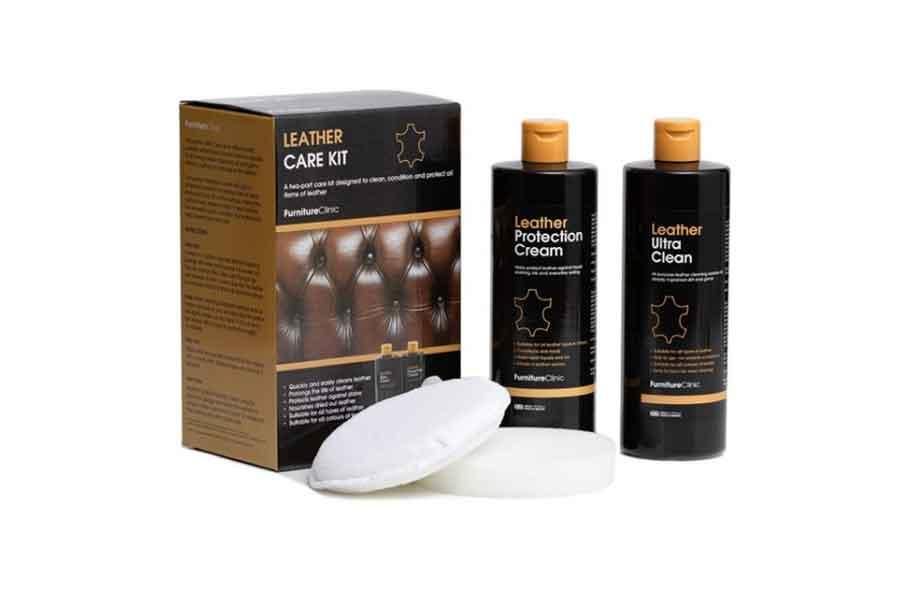 bersihkan kulit dengan minyak khusus sofa kulit
