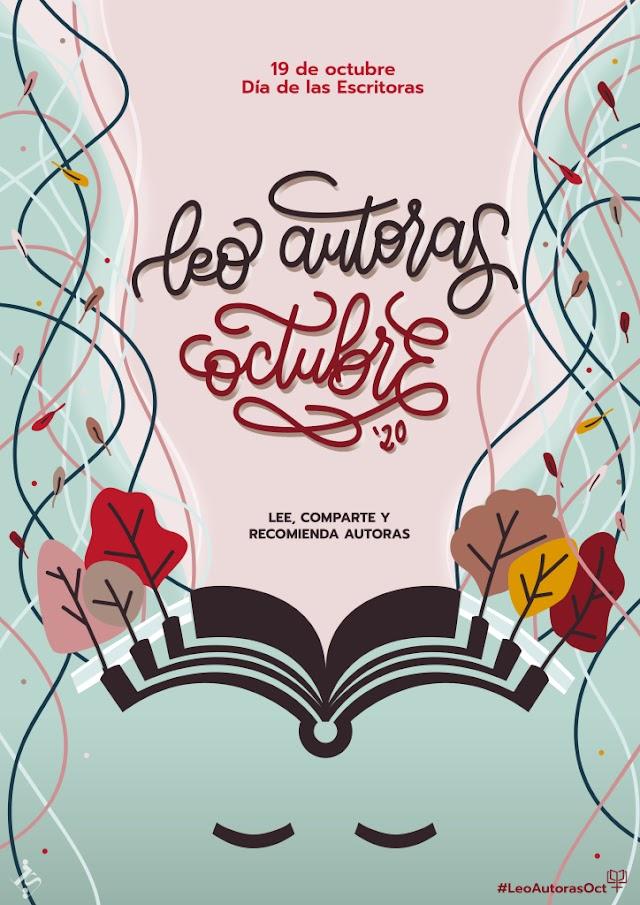 #LeoAutorasOct: una iniciativa para descubrir autoras