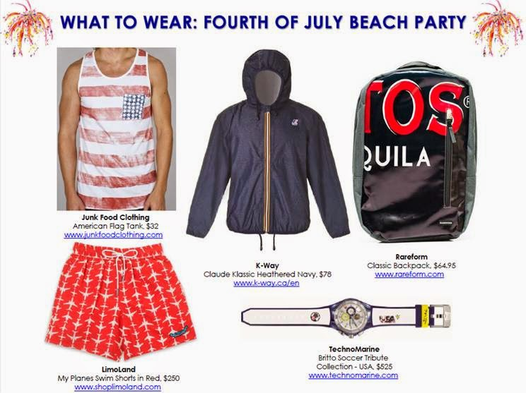 Men's Fashion for July 4th
