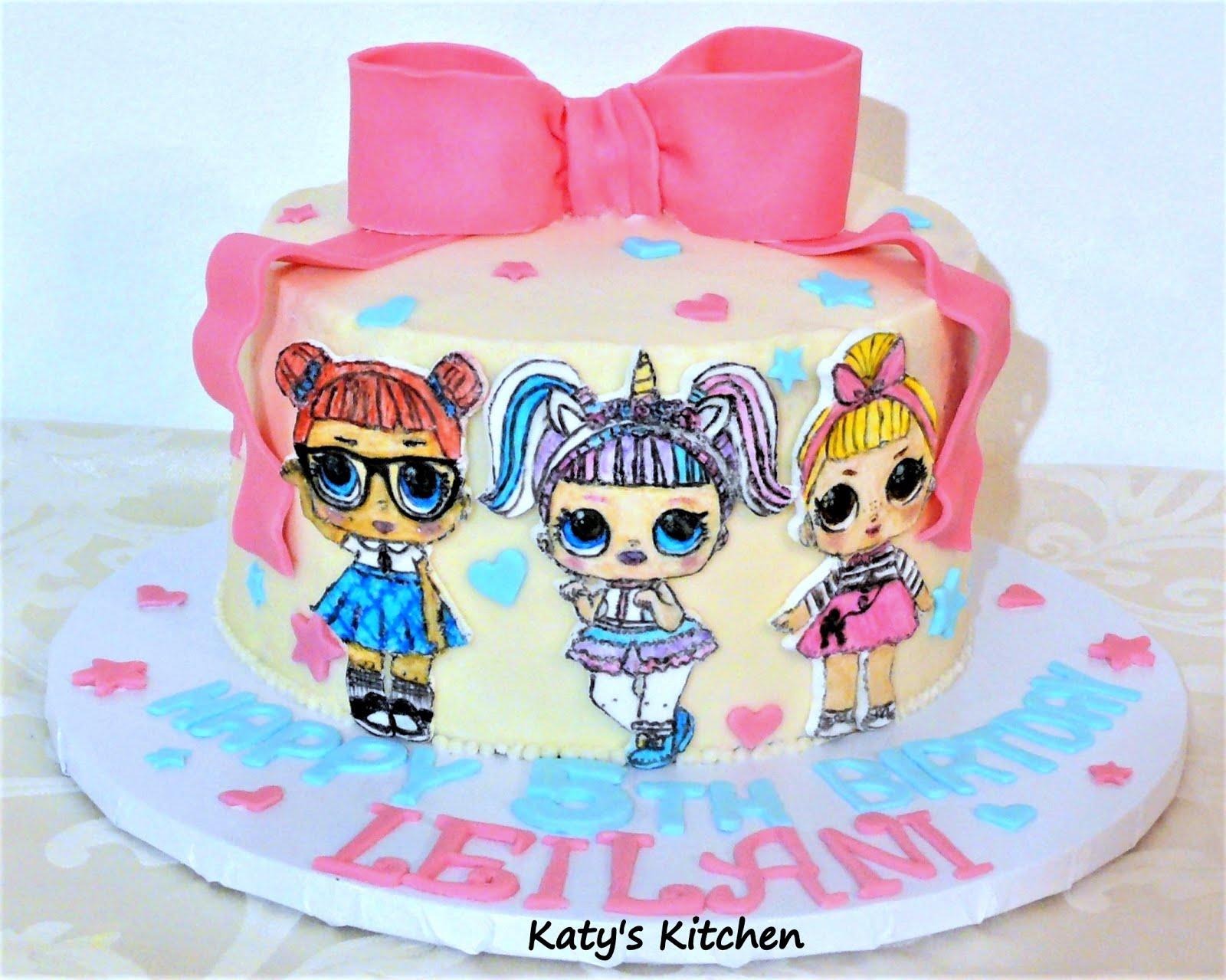 Katys Kitchen LOL Surprise Doll Cake