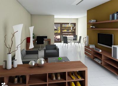 desain interior sederhana minimalis