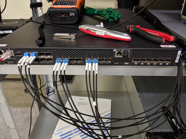 SAN A, Brocade 7800 Extension Switch