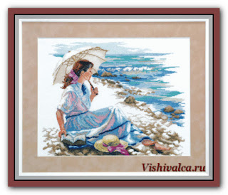 "Download cross stitch scheme А-152 ""Scarlet sails"" Чарівна Мить"