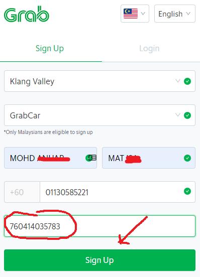 Daftar grab driver Malaysia