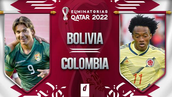 Colombia vs. Bolivia por Eliminatorias Qatar 2022 desde el Hernando Siles
