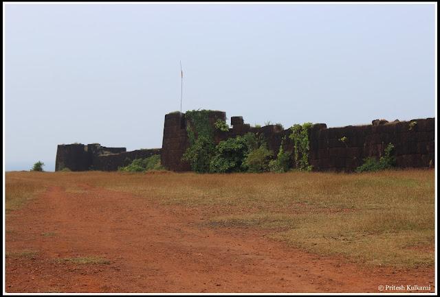 Devgad Fort wall