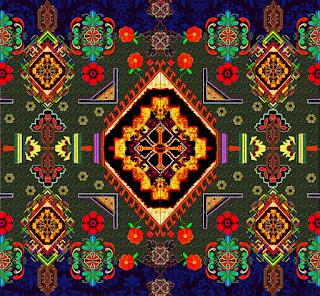 Abstract-kurti-border-textile-print