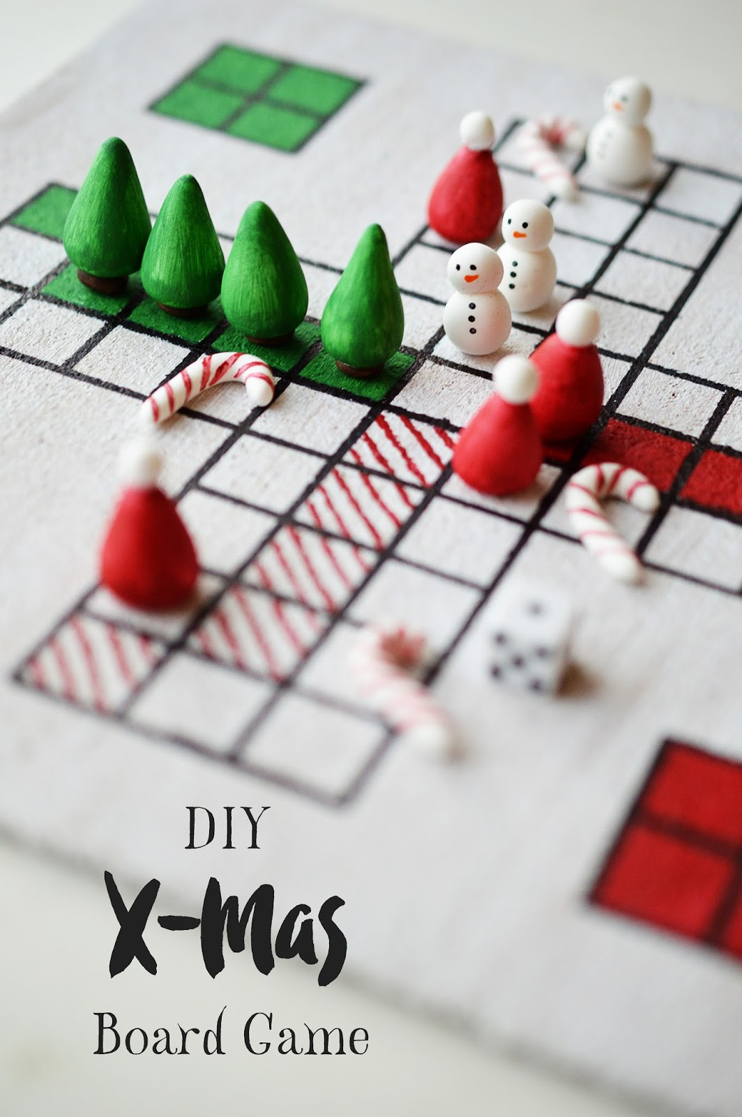 DIY Christmas Board Game tutorial
