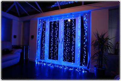 Contoh Dekorasi Lampu Tumblr Warna Biru