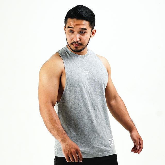 Long Cut Basic Grey