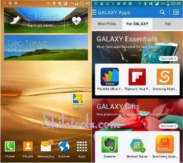 Samsung S5 Custom Recovery