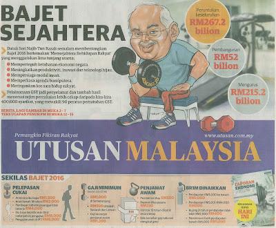 Image result for gambar akhbar utusan malaysia